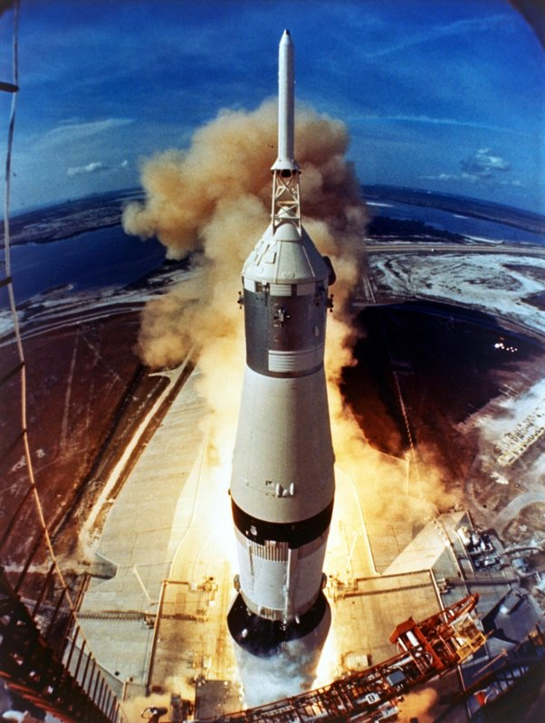 Launch of Apollo 11