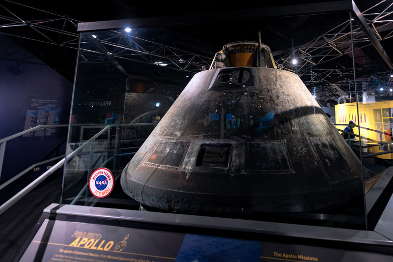 Apollo 8 Command Module - Chicago Museum of Science and Industry
