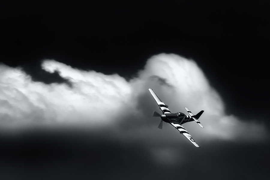 P-51 Mustang - Flyby